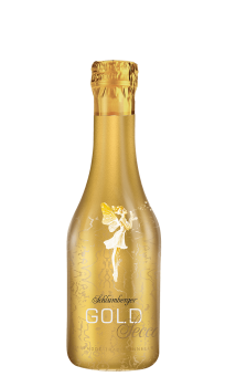 Schlumberger Gold Secco 0,2 Liter Piccolo Flasche